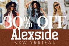 Alexside - Premium Slab Font Product Image 5