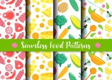 Seamless Food Patters Product Image 1