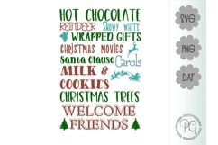 Christmas Subway Art SVG PNG JPG DXF Product Image 2