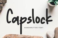 Capslock Handwritten Font Product Image 1