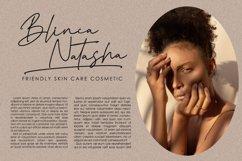 Brainstone Modern Elegant Signature Type Product Image 4