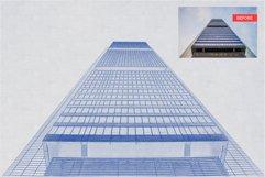 Architect Blueprint Photoshop Action Product Image 3
