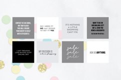 25 x Grey, Black & White Online Business Social Media Quotes Product Image 2