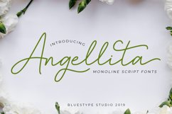 Angellita - Monoline Script Fonts Product Image 1