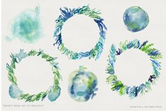 Ocean Life Watercolor Illustrations Product Image 6