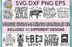 Huge Sign Making Bundle #3 SVG DXF PNG EPS Cutting Files Product Image 1