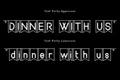 Party font Product Image 4