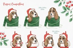 Woof Christmas Watercolor Product Image 6