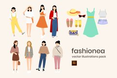 Fashion Vector Illustrations Product Image 4