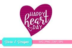 Valentine SVG | Valentine's Day SVG | Heart SVG Product Image 1