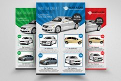 Rent A Car Flyer Templates Product Image 1