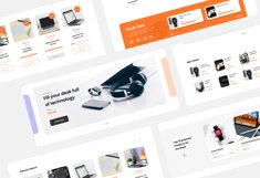 Elextra Electronic E-commerce Website Template Product Image 4