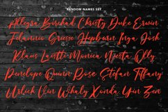 Mistychain Brush Script Font Product Image 8