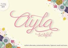 Ayla Script Product Image 1