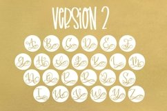 Monogram Bundle - FIVE Styles Including a Split Monogram! Product Image 4