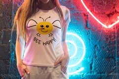 Bee svg Bee happy svg Product Image 5
