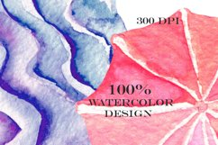 Marshmallow watercolor clip art Product Image 3