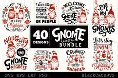 Christmas Gnomes SVG bundle Gnome bundle SVG 40 designs Product Image 1