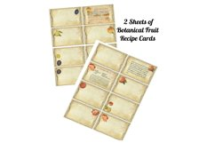 Kitchen Apples Journal Scrapbook Kit PDF Product Image 2
