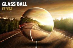 Glass Ball PSD Effect Product Image 1