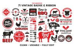 71 VINTAGE BADGE & RIBBON Vol.7 Product Image 5