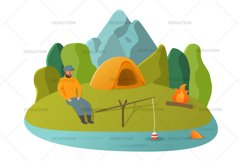Hiking Camping Tent Product Image 4