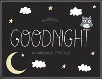 Goodnight Handmade Font Product Image 1
