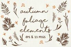 Autumn Foliage Elements Product Image 1
