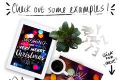 Christmas lights: lettering + more! Product Image 2