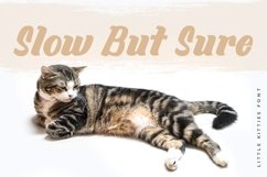 Web Font Little Kitties Product Image 2