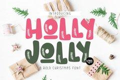 CHRISTMAS FONT BUNDLE - 4 Hand Lettered Christmas Fonts Product Image 6