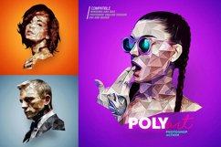 Low Poly Photoshop Action Product Image 2