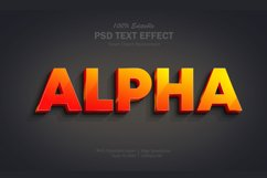 Gradient Alpha Text Effect Product Image 1