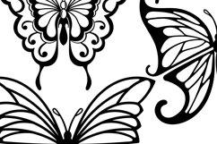 Butterflies Clip Art | Vector files Product Image 3