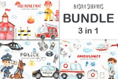 Rescue services. BUNDLE. Product Image 1