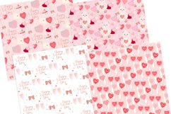 Valentine's Day Seamless Pattern Digital Papers Product Image 2