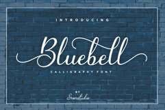 Bluebell - Calligraphy Font Product Image 1