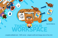 Office Workspace Scene Creator Product Image 2