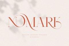 NOMARK    Ligature Typeface Product Image 1