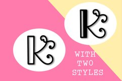 Intially - A Hand Lettered Monogram Font Product Image 3