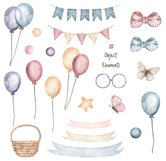 Watercolor Cute Bunny Collection Product Image 3