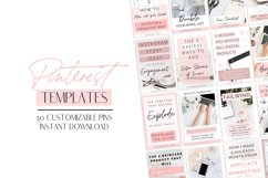 Pink Pinterest Templates for Canva Product Image 1