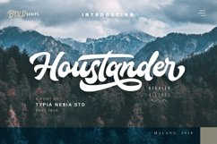 Houstander font duo Product Image 1