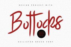 Aviliator Brush Font Product Image 5