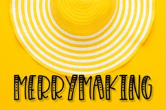 Merrymaking - 4 Styles Font Duo - Handlettered Product Image 1