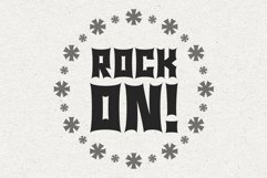 Monster Rock font - Monsta Rocka Product Image 5