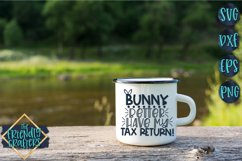 Bunny Better Have My Tax Return - An Easter Cut File Product Image 2