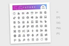 Future Line Icons Set Product Image 4