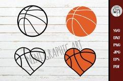 Basketball svg Bundle | Basketball cut file, Basketball Product Image 3