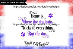 Dog text cut file, dog svg, dog cut file, paw print svg Product Image 2